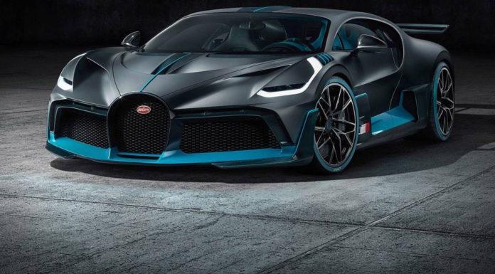 Bugatti Divo 3/4 anteriore