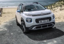 Citroen C3 Aircross Rip Curl, frontale