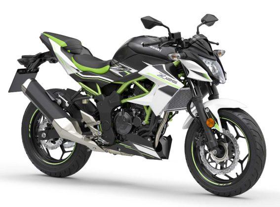 Kawasaki Z 125 2019 Nero e verde