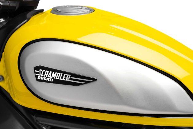 Ducati Scrambler icon 800 2019 particolare serbatoio