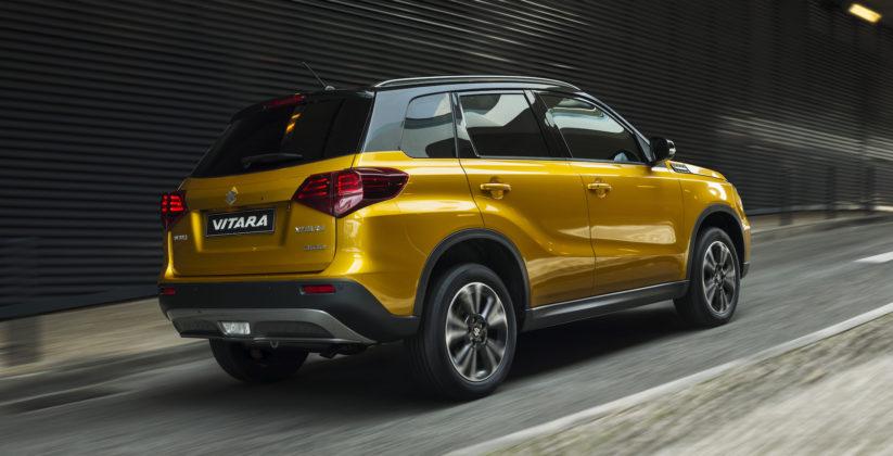 Suzuki Vitara 2018 3/4 posteriore