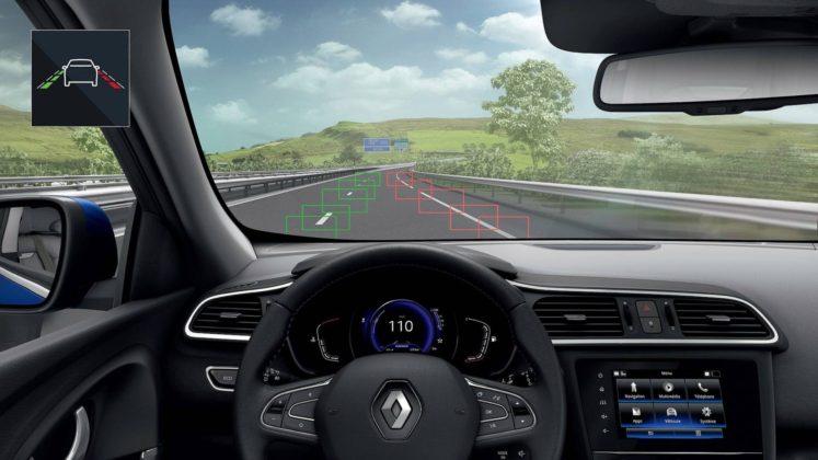 Renault Kadjar 2018, posto guida