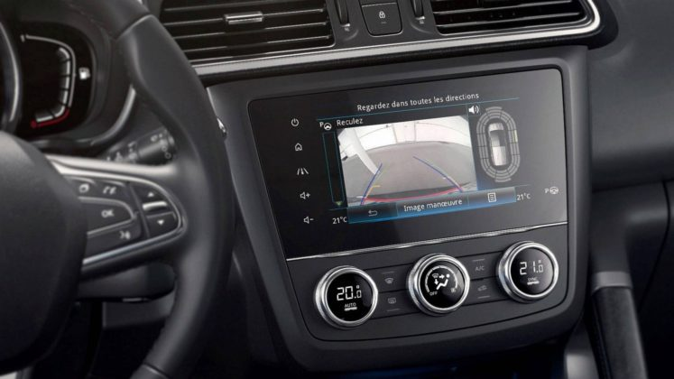 """Renault Kadjar 2018, touchscreen da 7"""""""