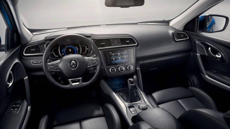 Renault Kadjar 2018, plancia e comandi