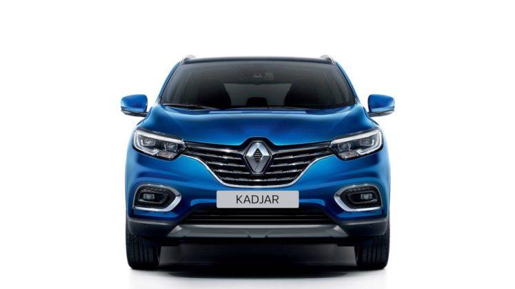 Renault Kadjar 2018, frontale blu