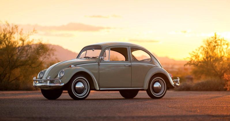 Volkswagen Maggiolino 1960, laterale