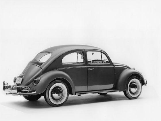 Volkswagen Maggiolino 1960, 3/4 posteriore