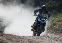 BMW R 1250 GS HP offroad action frontale