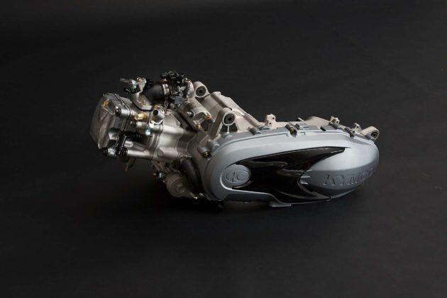 Kymco Xciting 400 S - motore