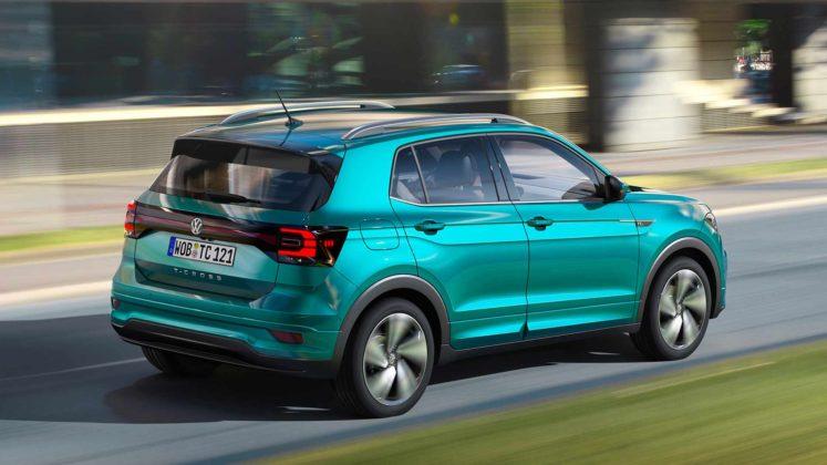 Volkswagen T-Cross, 3/4 posteriore